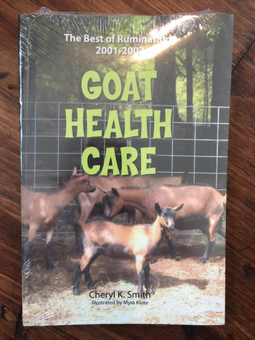 Goat Health Care Book *