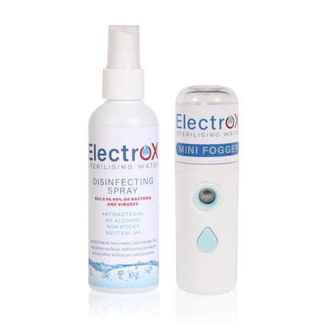 Electrox 20ml mini fogger + 100ml Disinfecting Spray
