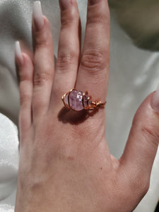 Amethyst Protection Ring