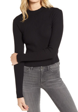 Load image into Gallery viewer, Rib Mock Neck Top