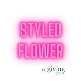 Styled Flower by Giving Island