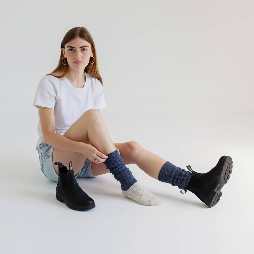 Antibacterial & Soft Boot Socks Accessories SILVER SPUN® GOODS
