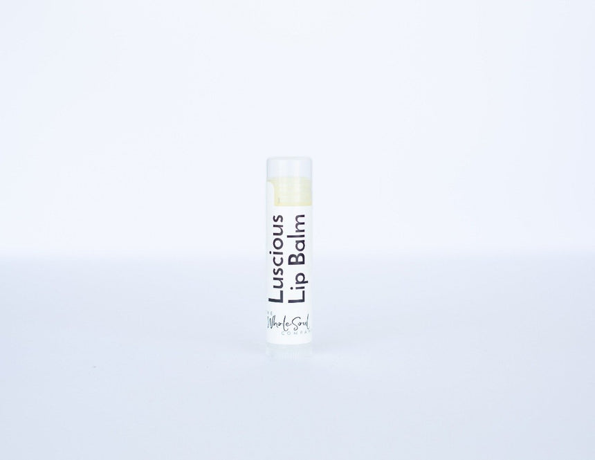 Luscious Lip Balm Lip Balm The WholeSoul Company Orange + Peppermint
