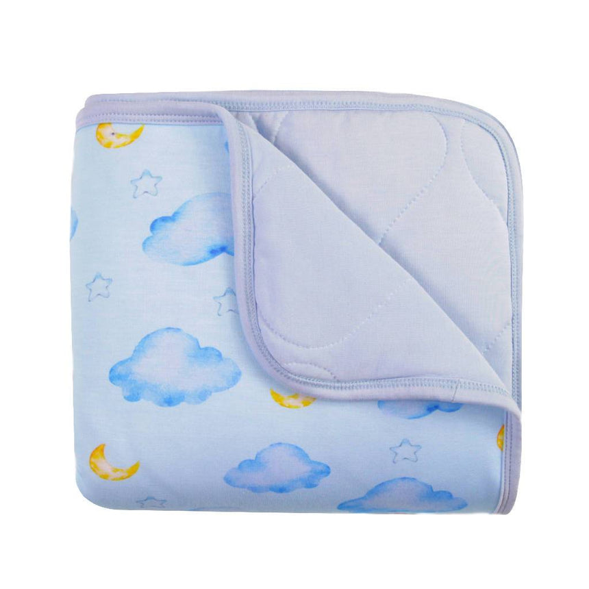 Little Bloombell | Sky Baby/Toddler Bamboo Blanket home, toys and kids, apparel Little Bloombell