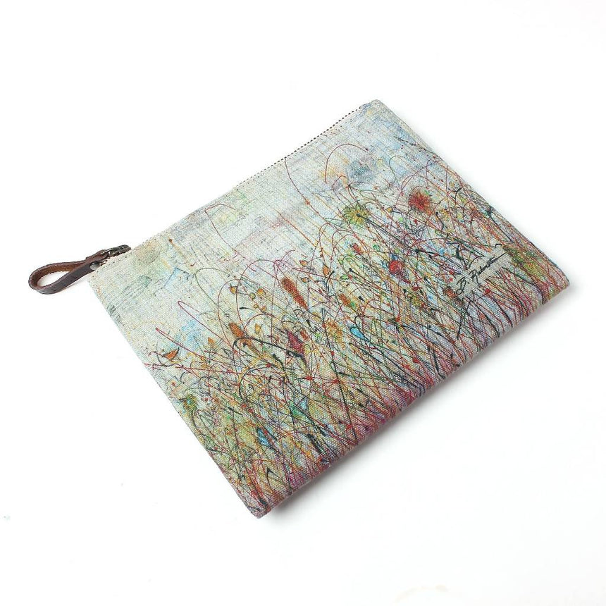 Arboretum Autumn Travel Pouch Travel Pouches Vismaya