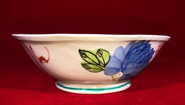 Famille Rose Chinese Porcelain Bowl 20th Century Porcelain Delightful Discoveries by SnS