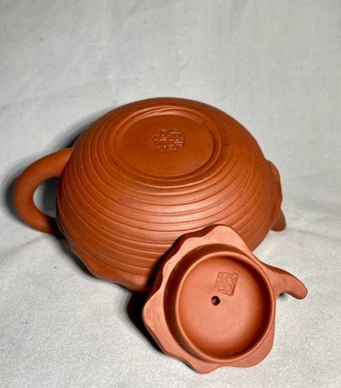 Handcrafted Yixing Teapot Signed teapot Delightful Discoveries by SnS