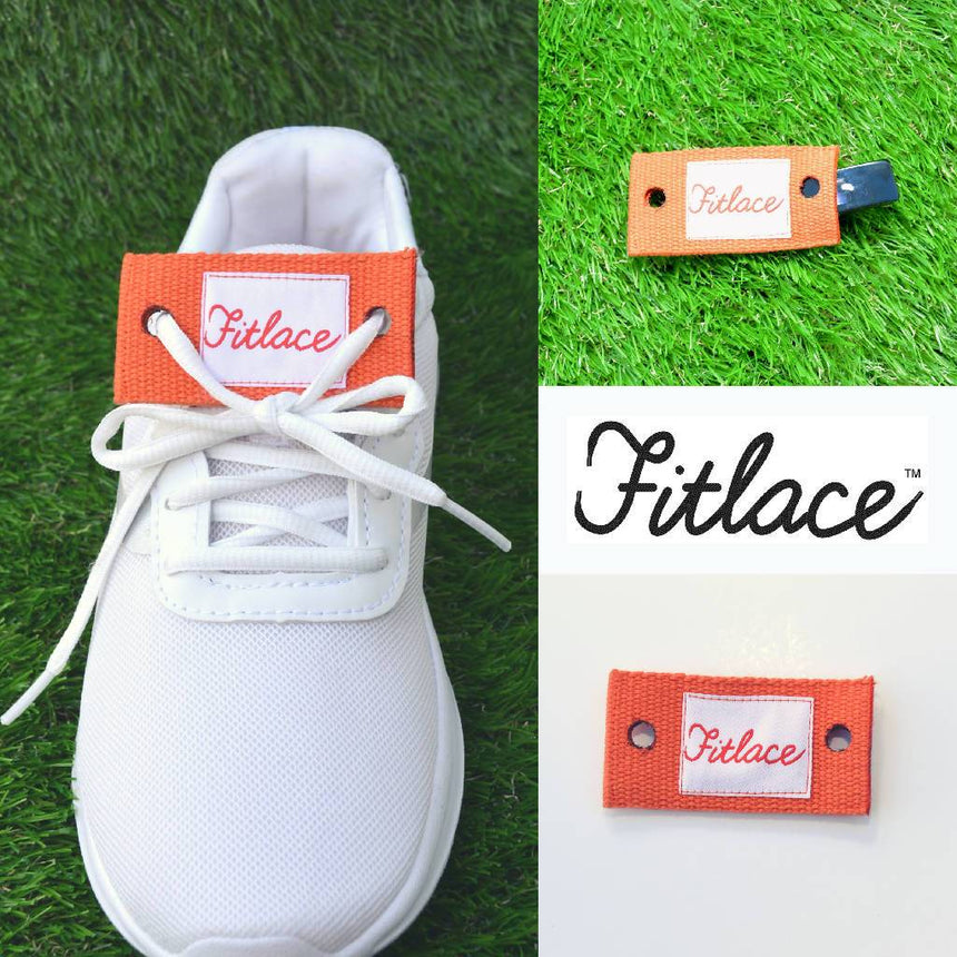 Fitlace Activity Tracker Companion: Orange Accessories Fitlace