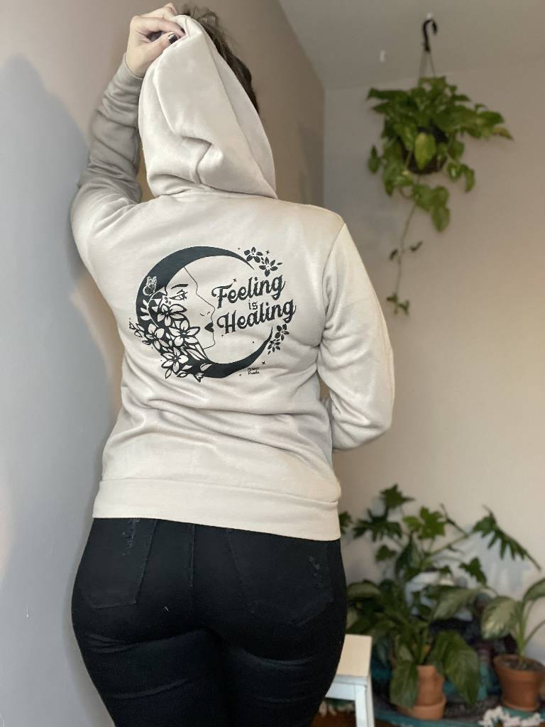 Feeling is Healing Zip Up Shirts Penny Puede