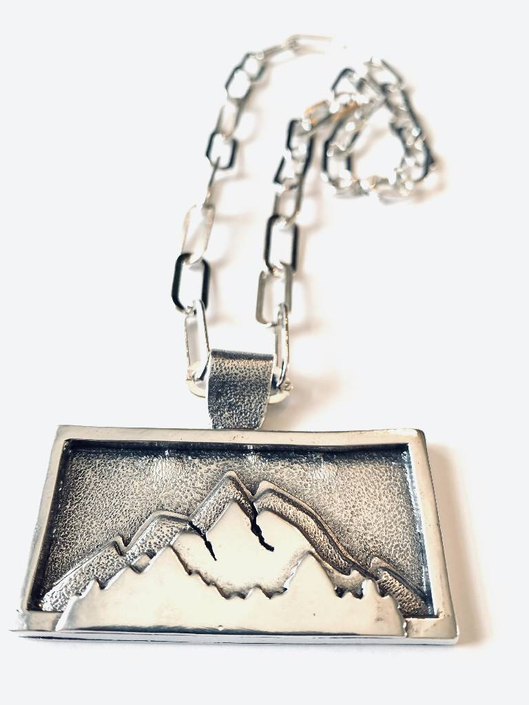 Mountain Necklace #1 Necklaces Huckleberry Designs