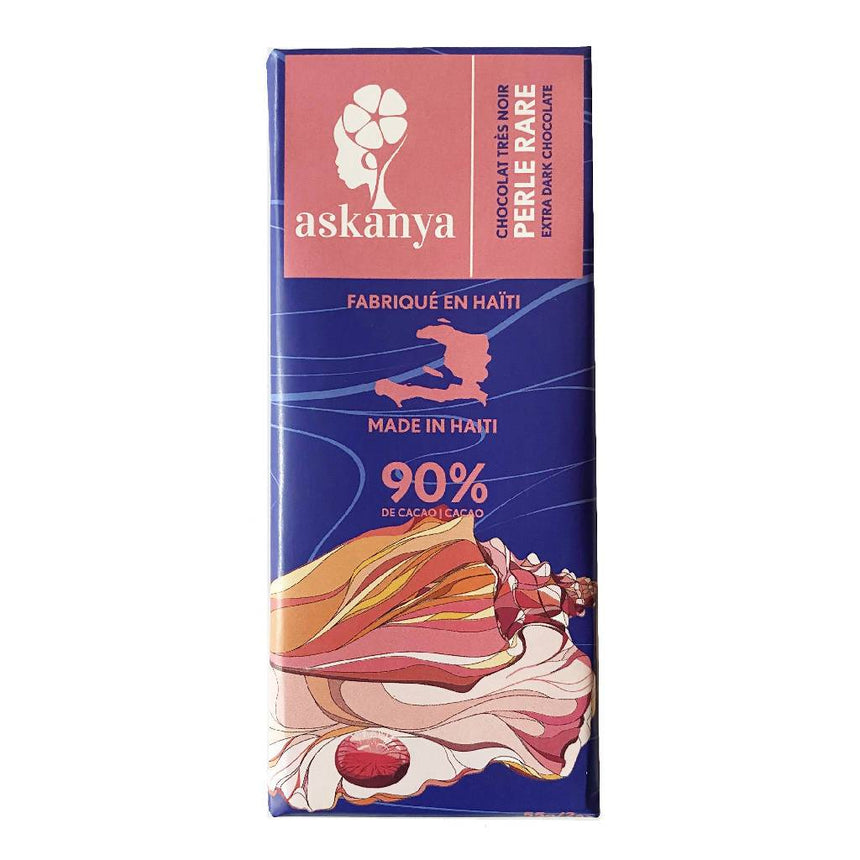 Perle Rare - Extra Dark Chocolate Bar Chocolate Askanya Chocolates