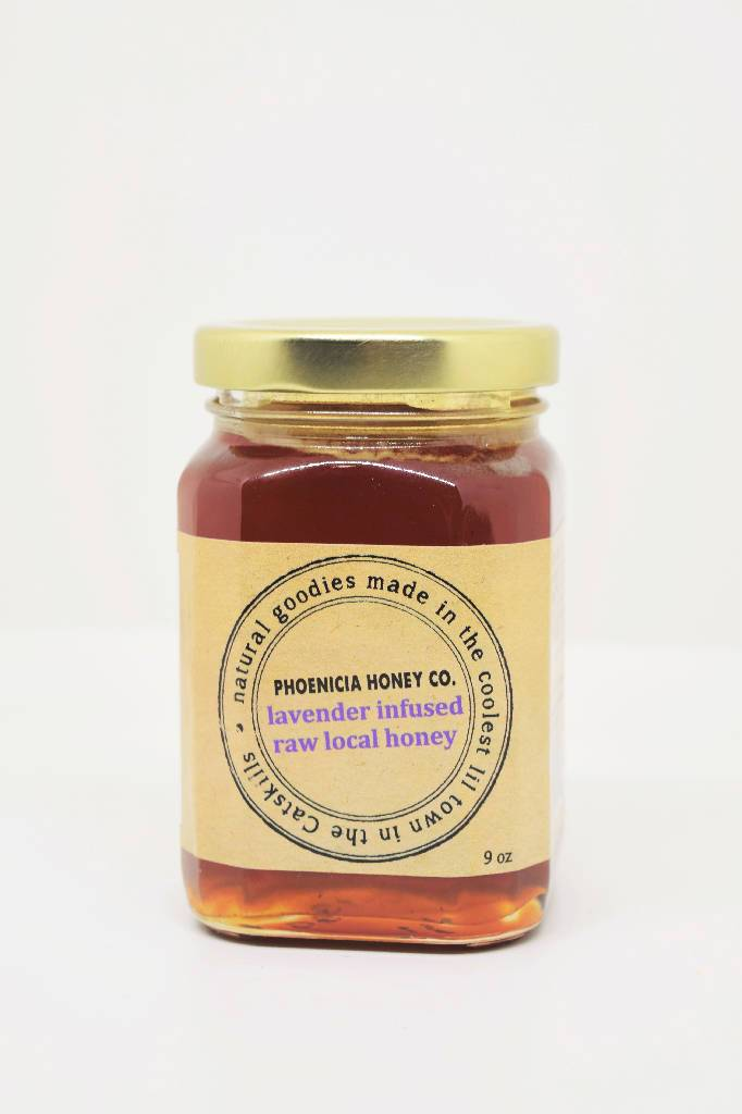 Lavender infused honey food phoenicia honey co
