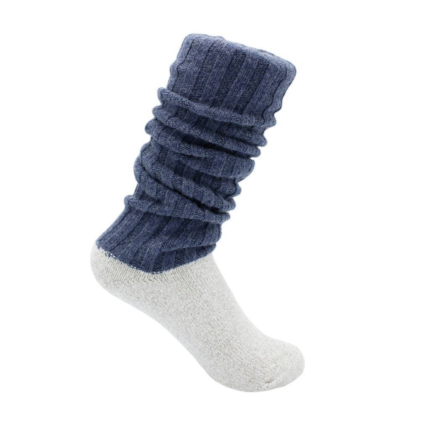 Antibacterial & Soft Boot Socks Accessories SILVER SPUN® GOODS S Blue