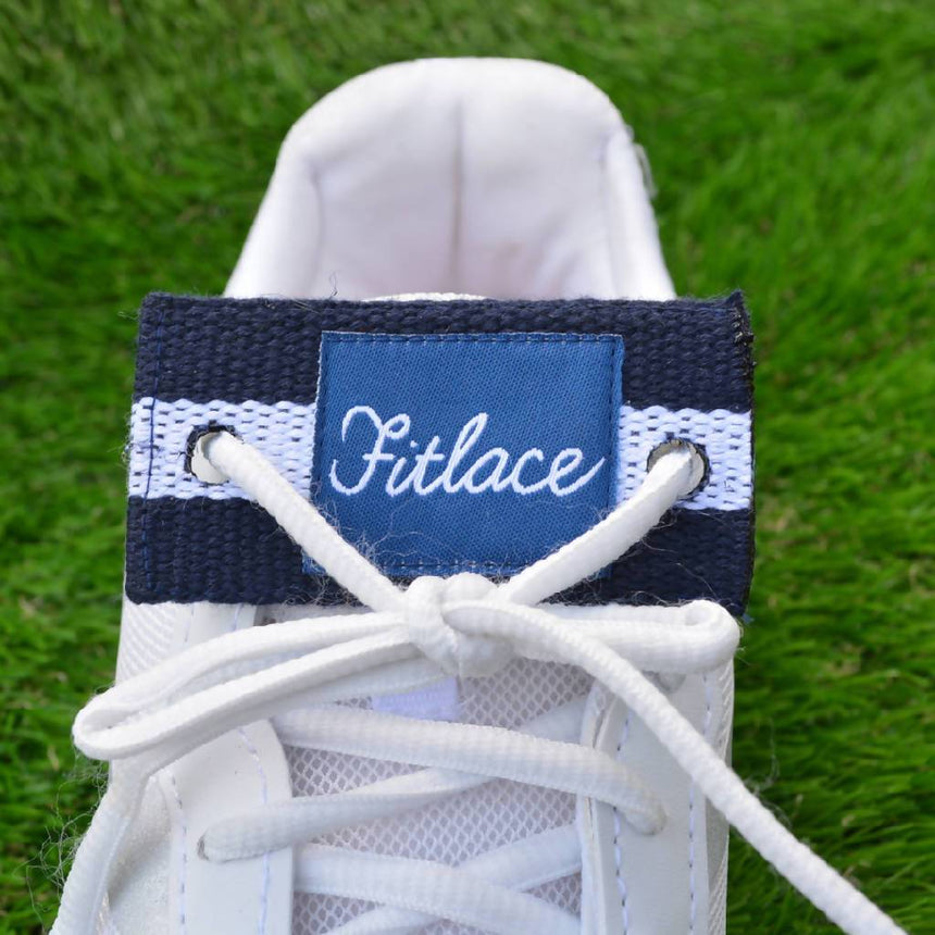 Fitlace Activity Tracker Accessory: Blue & White Stripe Accessories Fitlace