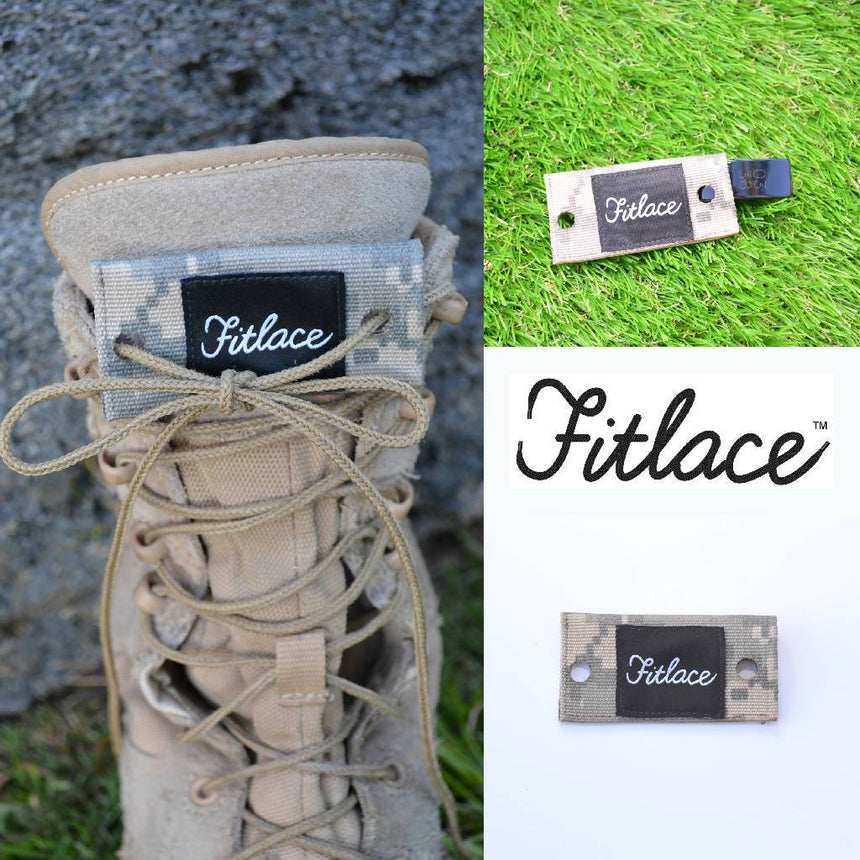 Fitlace Activity Tracker Accessory: Camoflauge Accessories Fitlace