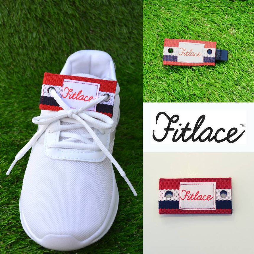 Fitlace Activity Tracker Companion: Red, White & Blue Accessories Fitlace