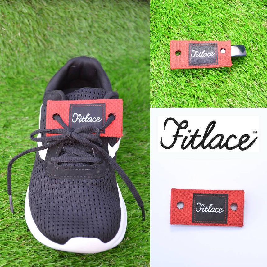 Fitlace Activity Tracker Companion: Red Accessories Fitlace