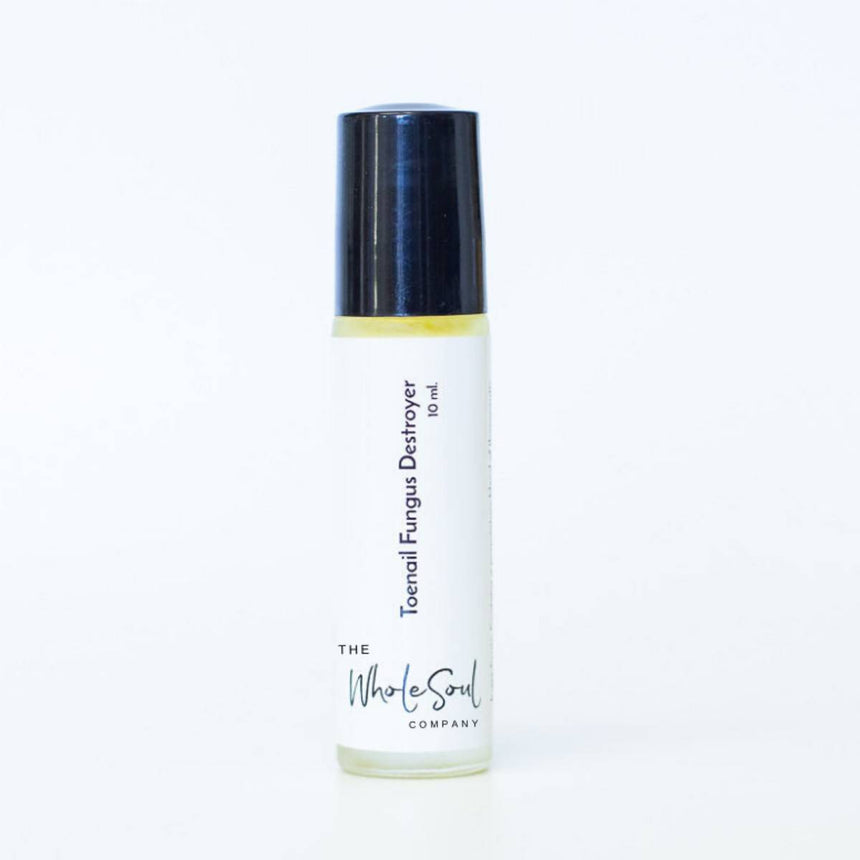 Toenail Fungus Destroyer Essential Oil Rollerball The WholeSoul Company