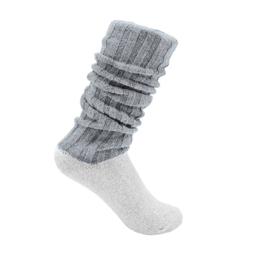 Antibacterial & Soft Boot Socks Accessories SILVER SPUN® GOODS M Gray