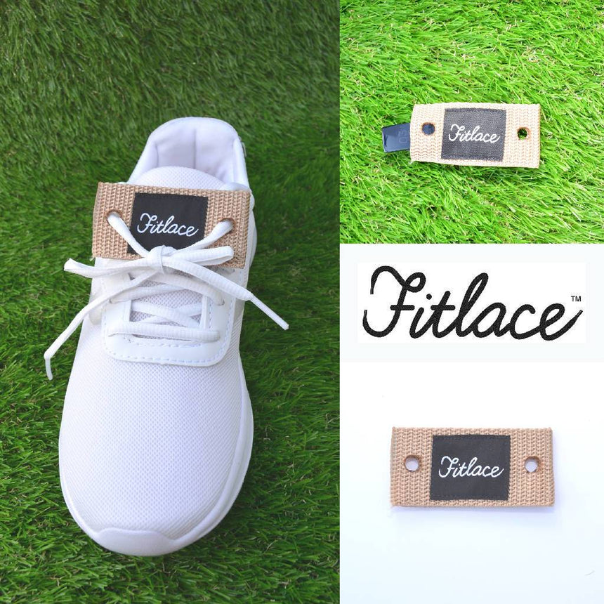 Fitlace Activity Tracker Companion: Tan