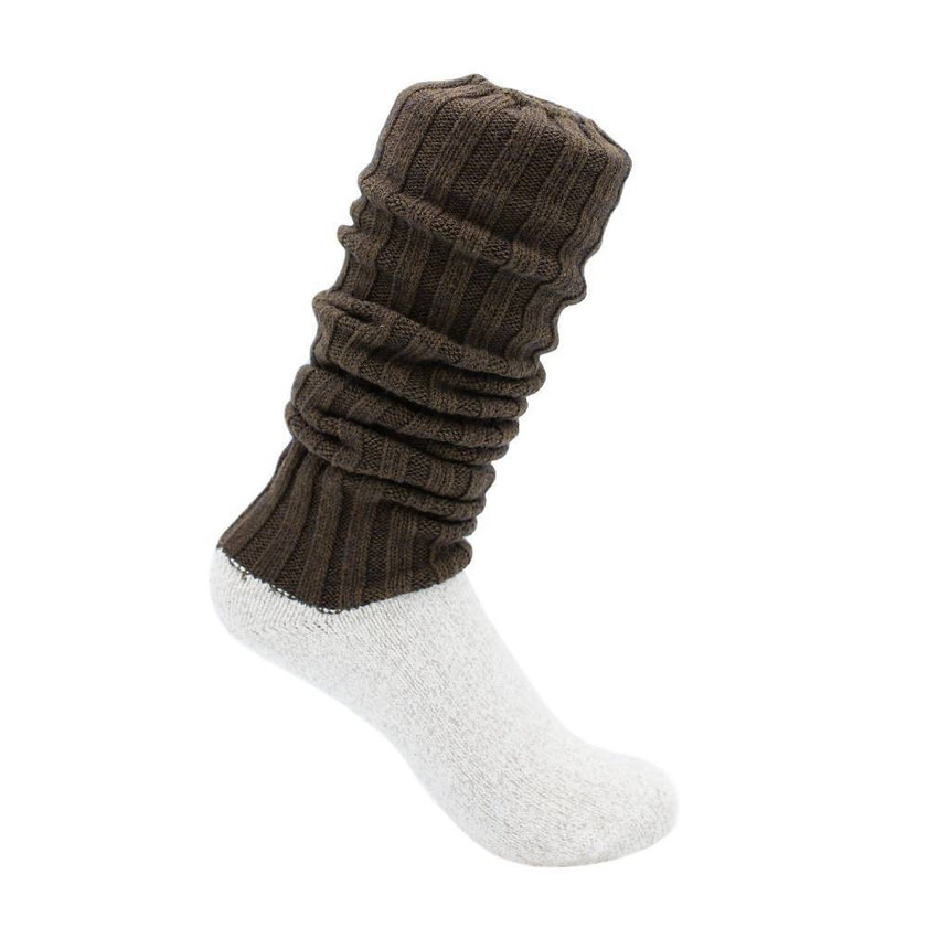 Antibacterial & Soft Boot Socks Accessories SILVER SPUN® GOODS S Brown
