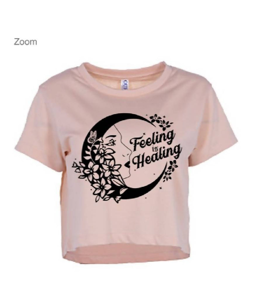 Feeling is Healing Crop Tank top Penny Puede XS