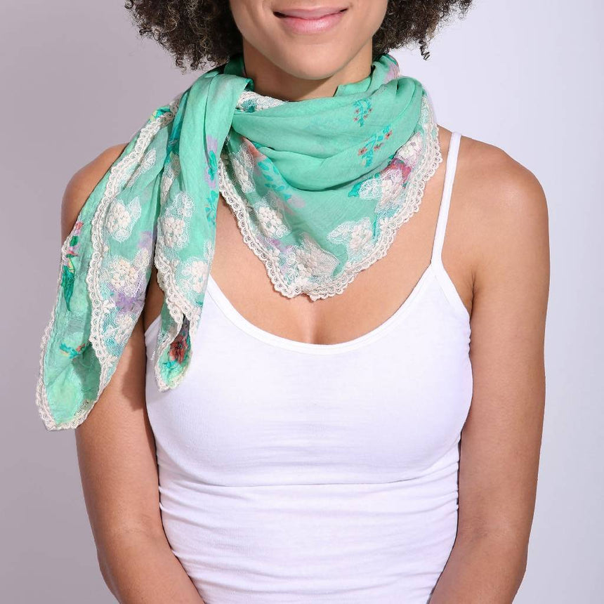 Bella Scarf Scarves Vismaya Green