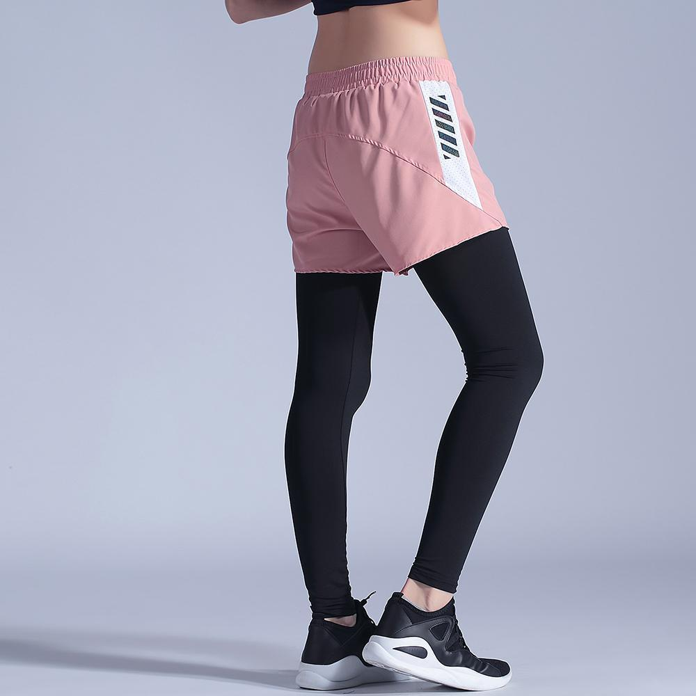 New Women Yoga Leggings Tights High Quality Elastic Workout legging with shorts Breathable Anti