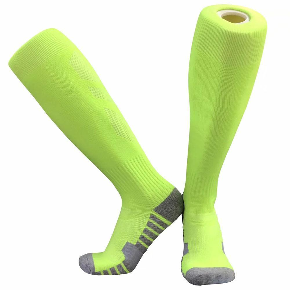 Durable Sports Socks Knee Legging Stockings Soccer Baseball Football Over Knee Ankle Men kids Socks
