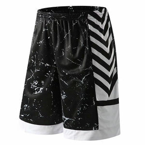 Open image in slideshow, Men's Basketball Shorts Breathable Fitness Pocket Running Shorts Jerseys Loose Workout Fitness