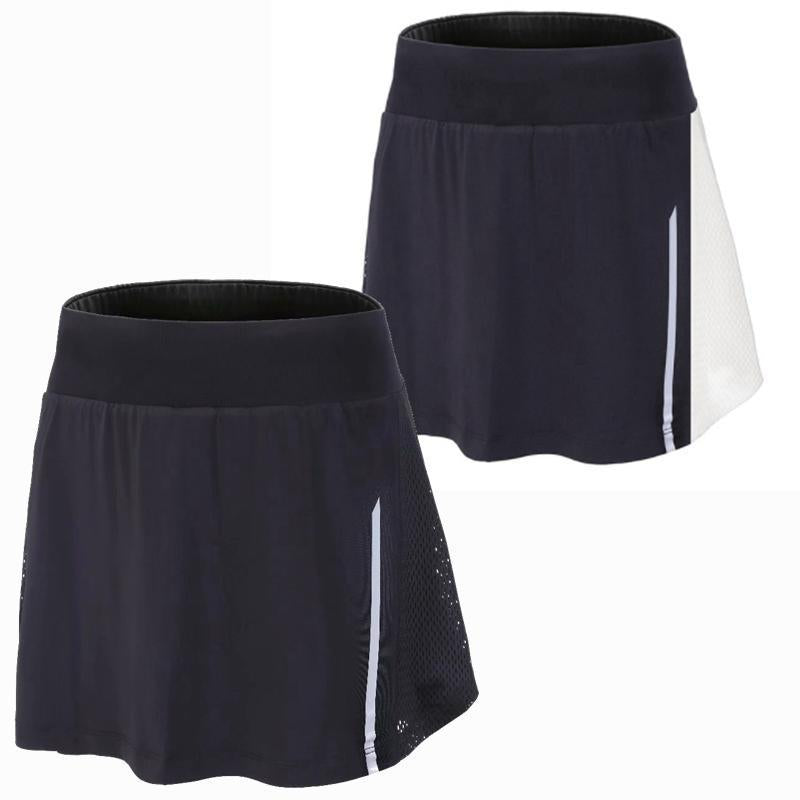 Female Sports Tennis yoga Skorts High Waist Tennis Skirt Short Uniform Badminton Quick drying Sport