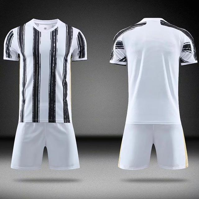 20/21 blank New Men's Women Kids Soccer Jersey Set Football Match Uniforms Men Soccer clothing Sets