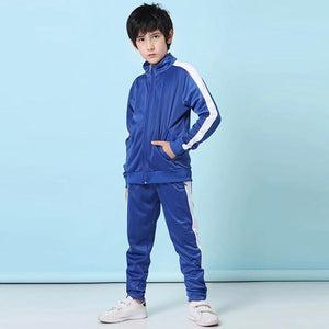 Open image in slideshow, winter soccer Jerseys set for kids football uniforms Boys sports Suits 19/20 Football jersey