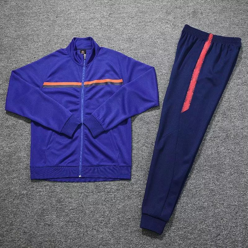 Adult Winter Tracksuit Uniforms Football Custom Soccer Training Uniform Survetement Soccer Clothes