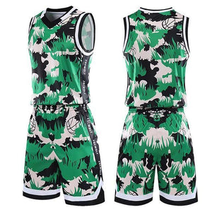 Open image in slideshow, Men Women Basketball Jerseys Uniforms Set College Basketball Jerseys Youth Basketball Uniforms Cheap