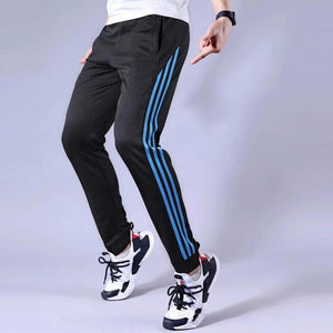 Open image in slideshow, Men Sports Pants Running zipper Pockets Athletic Football Soccer Training sport Pants Elasticity