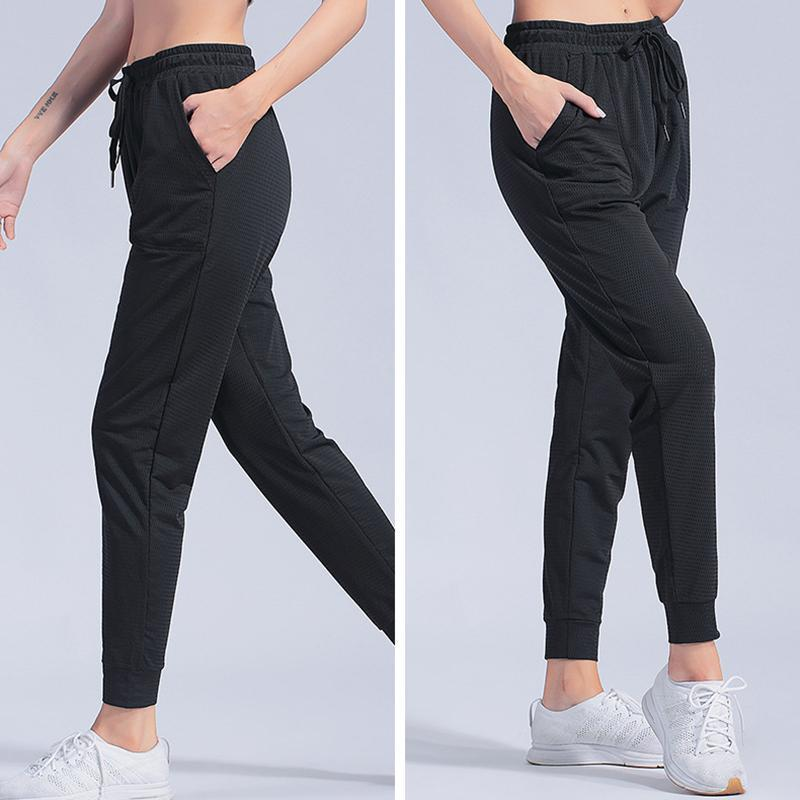 Sport Leggings Women Gym High Waist Yoga Leggings Loose Fitness Running Yoga Pants Running Trousers