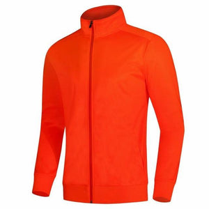 Open image in slideshow, Long Sleeves Men Kids Soccer Jerseys Set Winter Sportswear Running Jacket with pants Men Sports