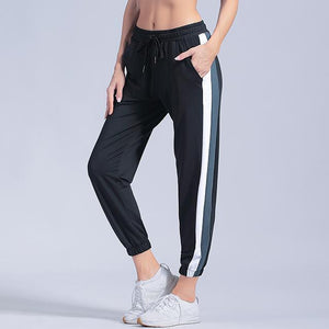 Open image in slideshow, Sports pants Women Loose trousers Women Yoga Leggings quick dry Running Gym Fitness pants summer