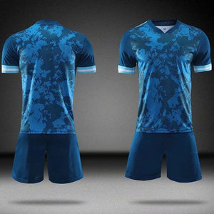 Open image in slideshow, 20/21 blank New Men's Women Kids Soccer Jersey Set Football Match Uniforms Men Soccer clothing Sets