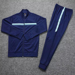 Open image in slideshow, Survetements de foot Homme 19 20 blank Winter Tracksuit Men Soccer Jerseys Sets Uniforms Football