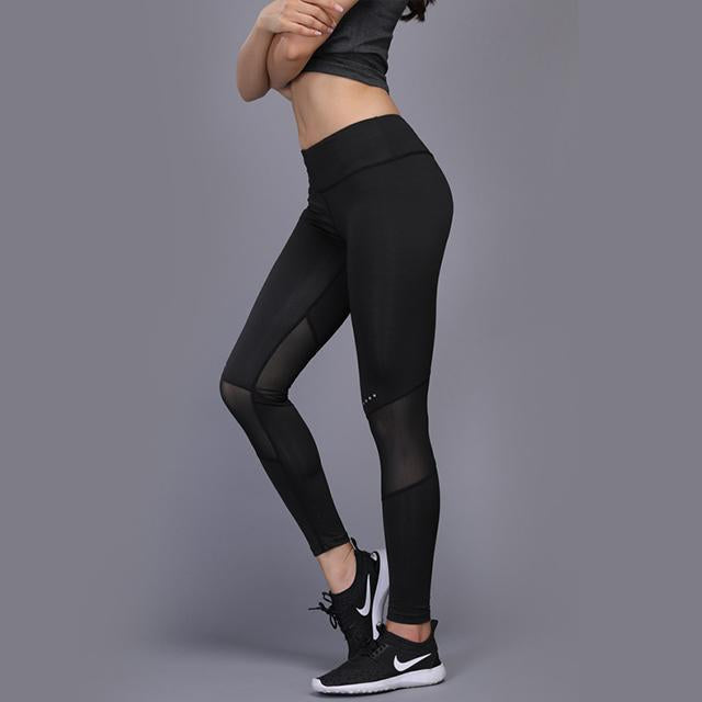 Women Yoga Leggings pants High Elasticity Seamless Tummy Control Yoga Pants Gym Tights High Waist