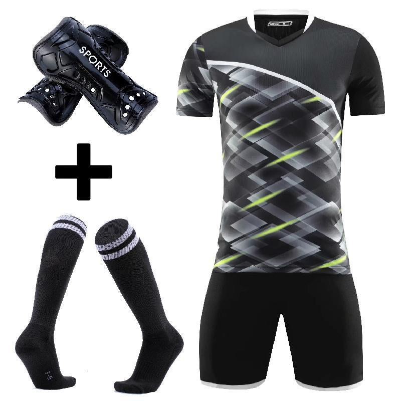 Adult goalkeeper Soccer Jerseys Men football uniforms Men Soccer Clothes Sets Custom adult soccer