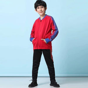 winter soccer Jerseys set for kids football uniforms Boys sports Suits 19/20 Football jersey