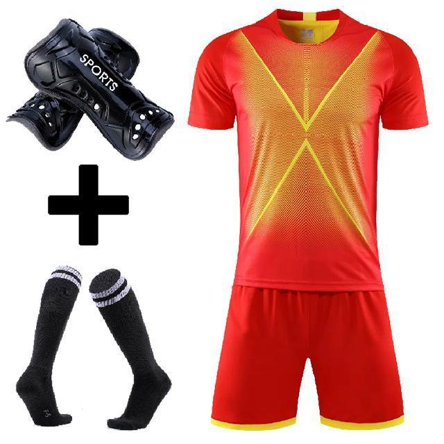 Soccer shirts and shorts set for Men kids football uniforms Custom Boys and girls Soccer Clothes