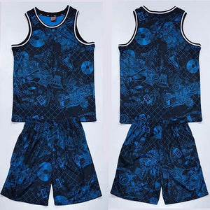 Open image in slideshow, Men/Women Basketball Jersey Sets , Youth Basketball Uniform, Adult Sports Shirts Clothing Training