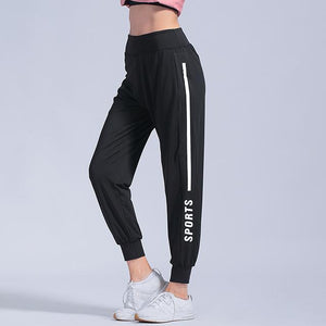 Open image in slideshow, Summer Sports pants Women Fitness Gym Leggings Sweat Pants Jogging Long Trousers Harem Pants