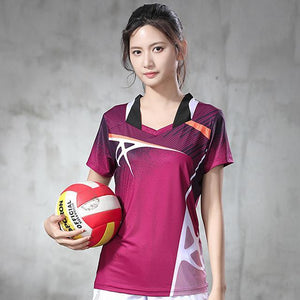 Open image in slideshow, 2020 New Badminton Shirt Women/Men's sport shirt Tennis shirts Quick Dry Breathable sports Exercise