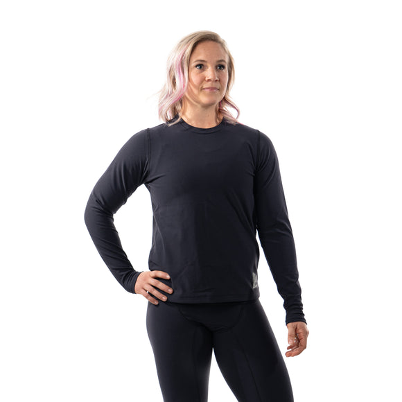 Top Long Sleeve Crew Neck Women's