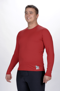 Crimson Top Long Sleeve Crew Neck Men's